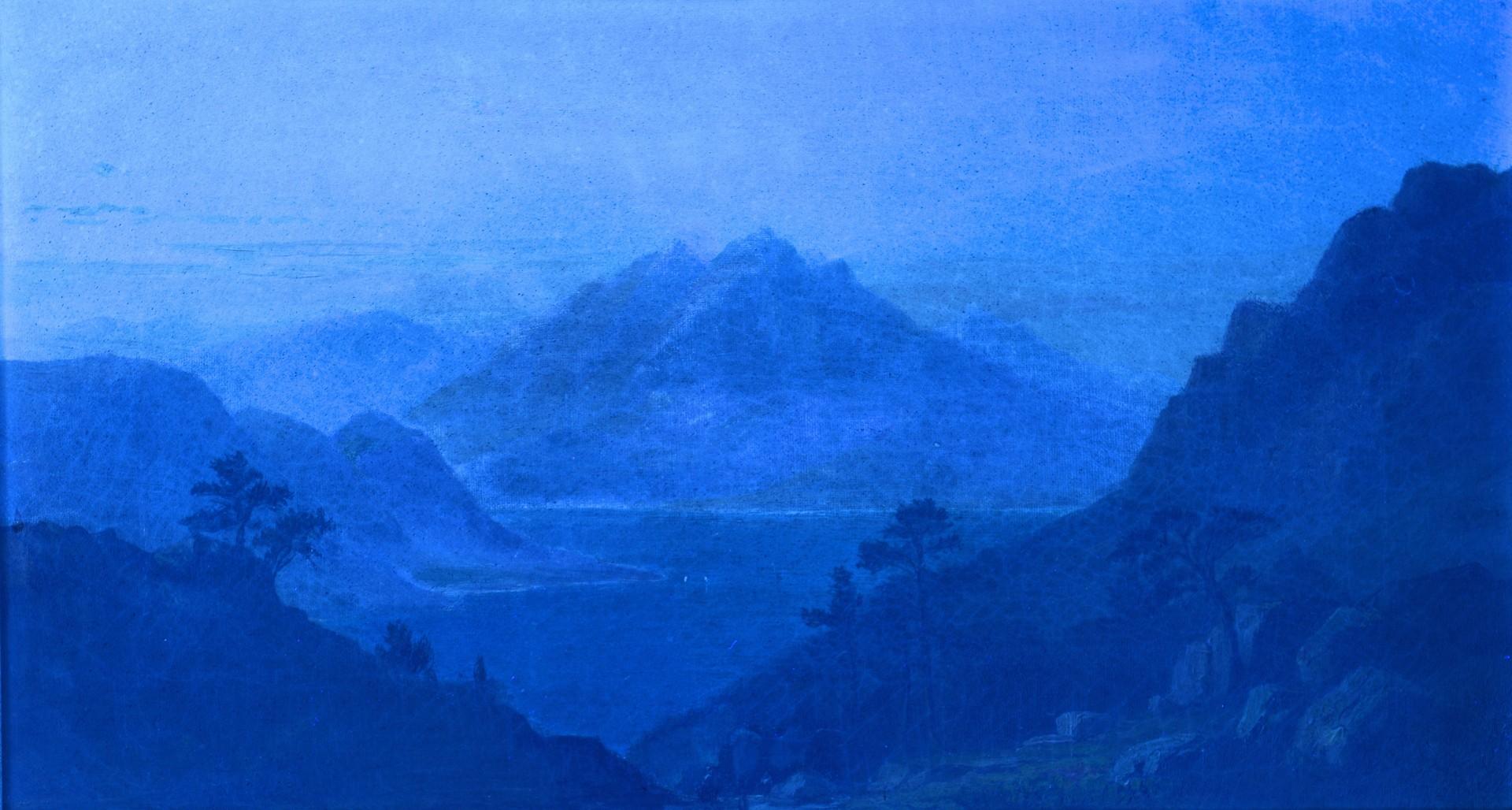 Lot 196: Benjamin Champney Oil on Canvas Landscape