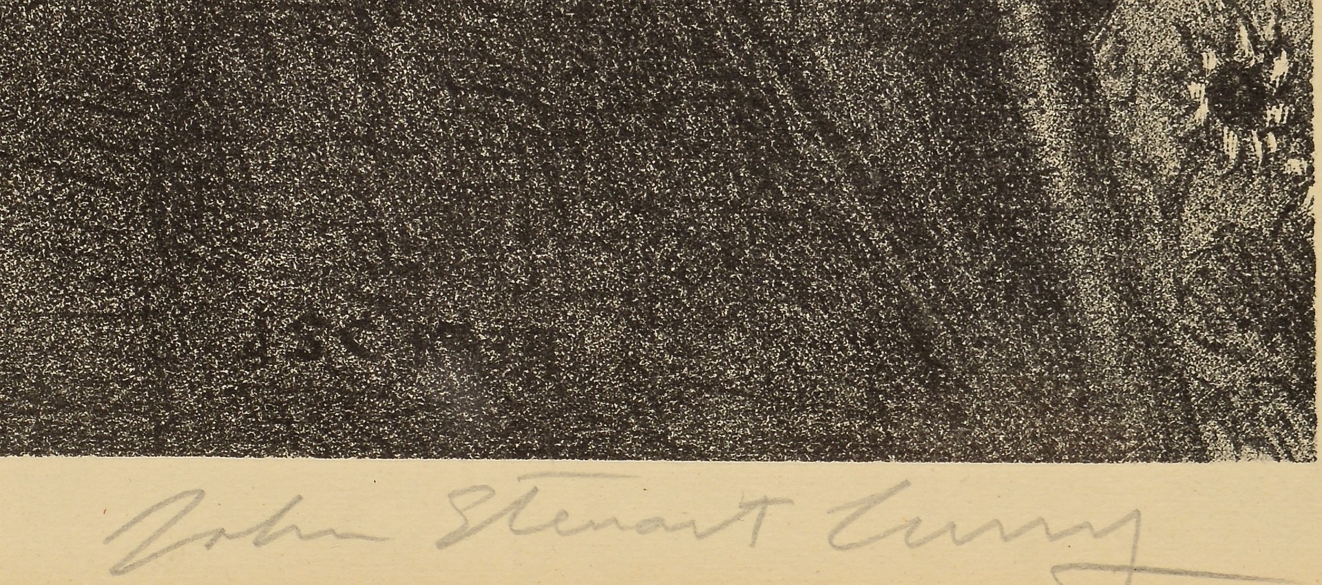 Lot 203: John Curry Lithograph, John Brown