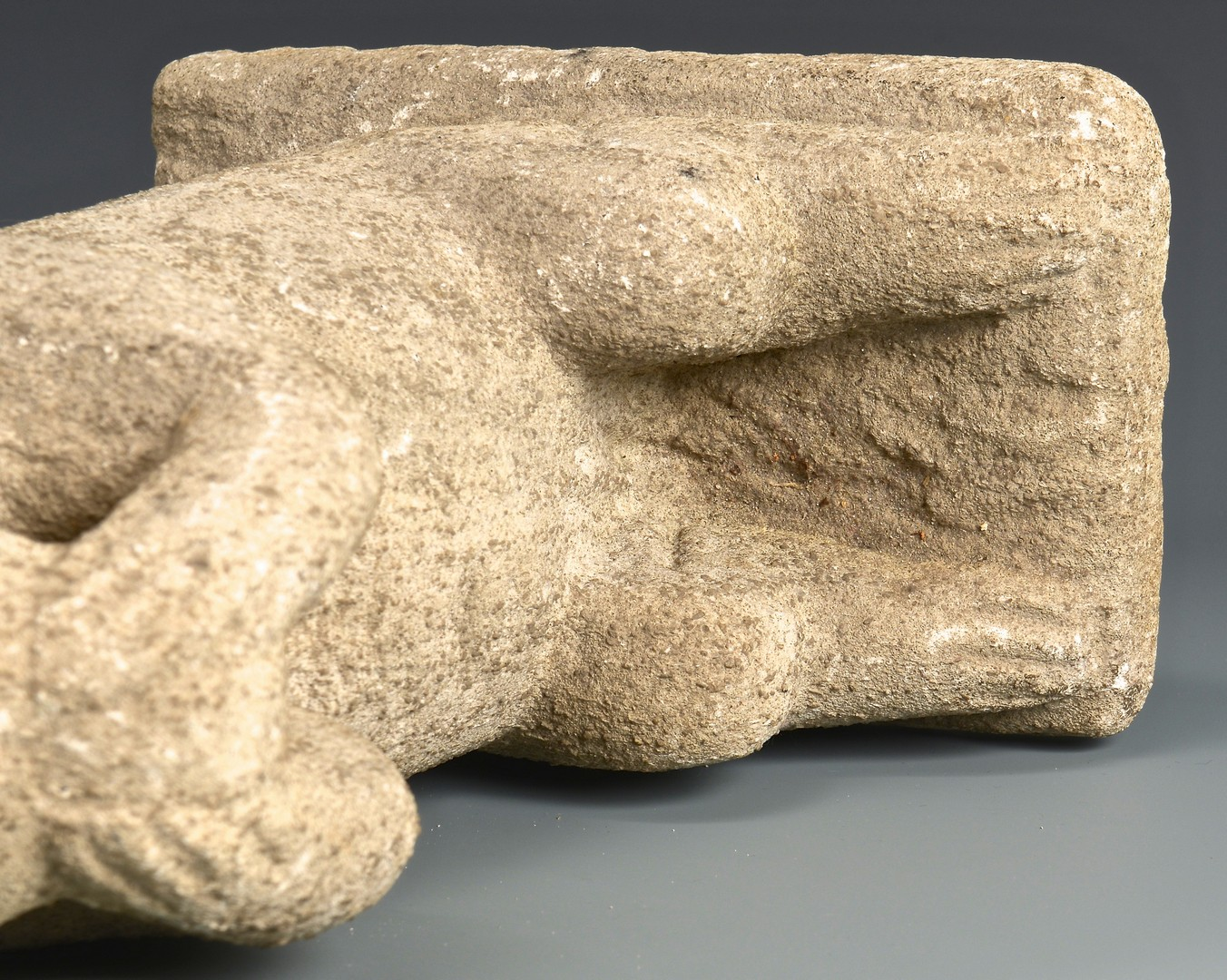 Lot 204: William Edmondson Squirrel Sculpture