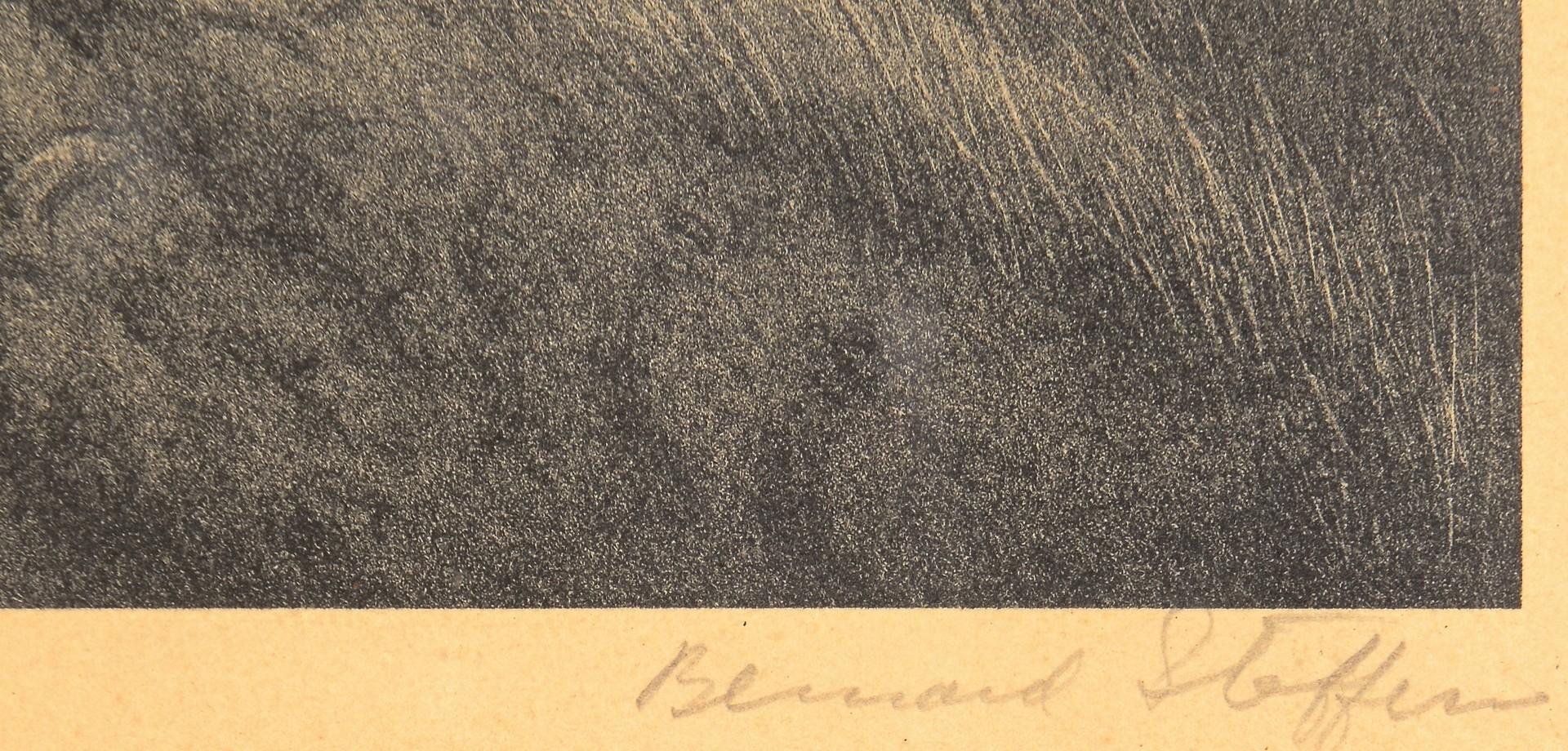 Lot 205: Bernard Steffen Lithograph, Upland