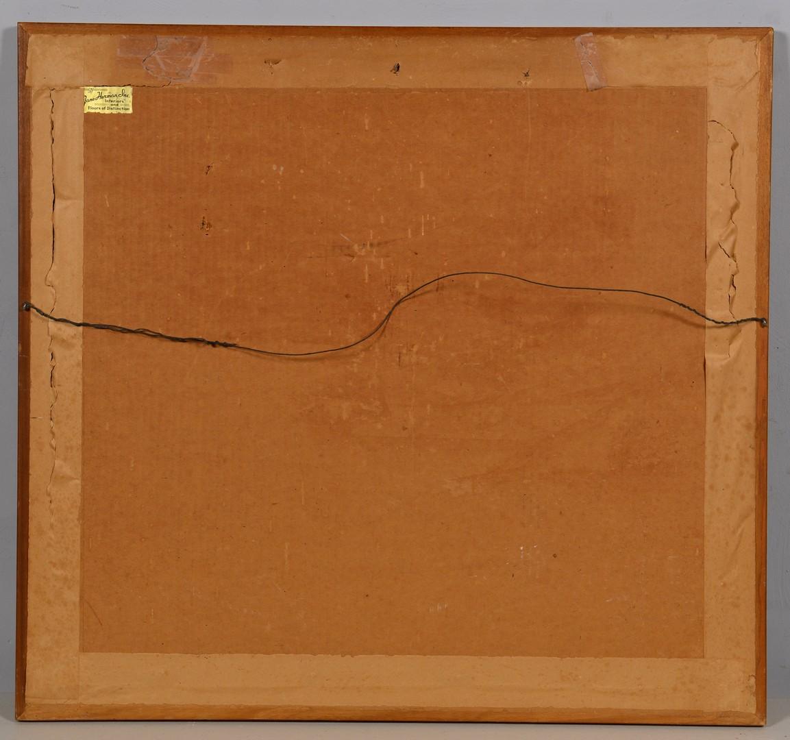 "Lot 206: Buell Whitehead Lithograph ""Tobacco Barn"""
