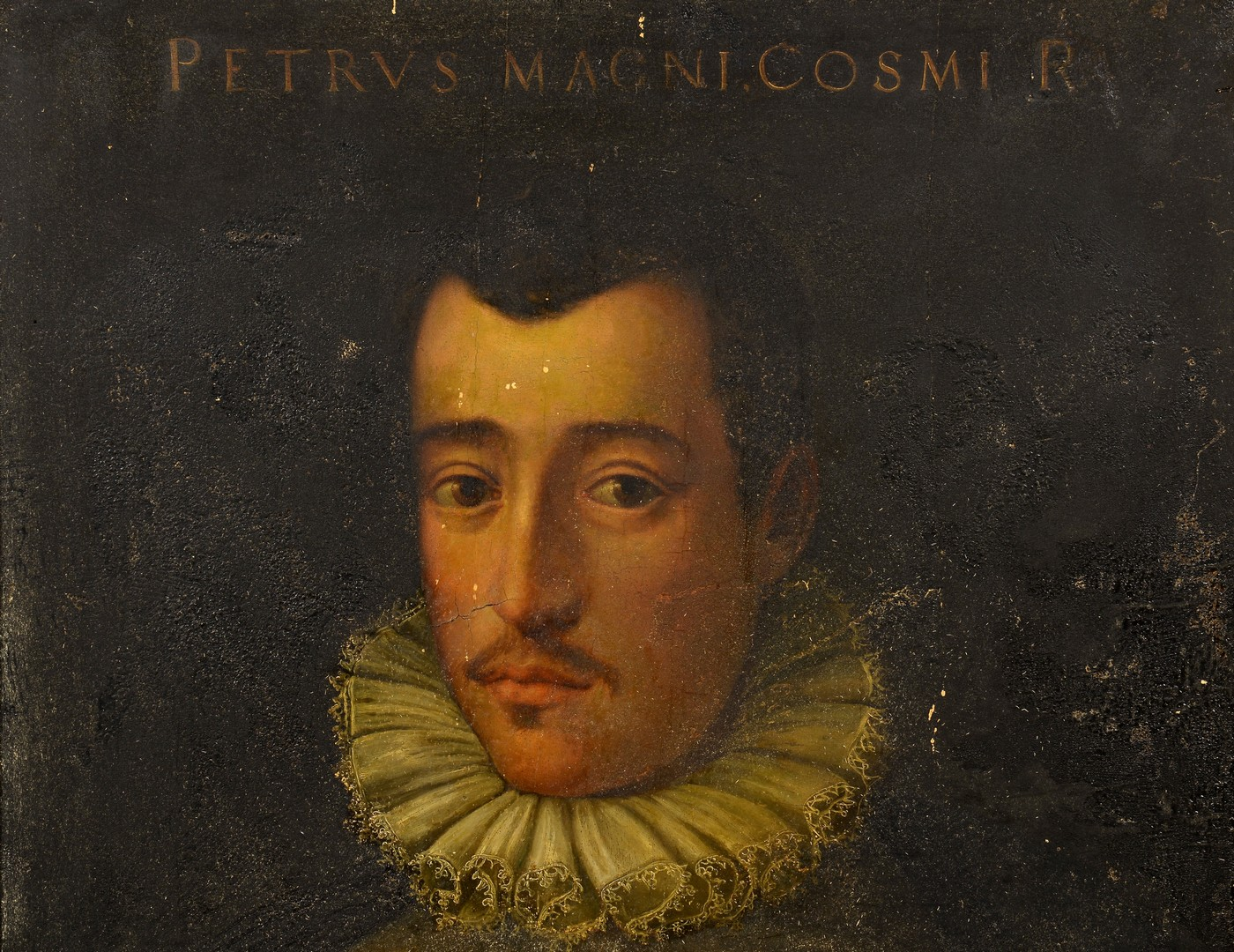Lot 218: 16th Century Florentine Oil Portrait, Medici