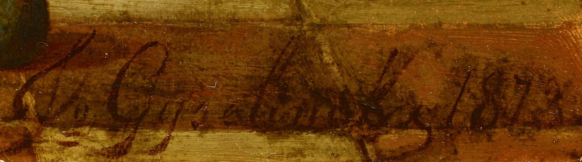 Lot 223: Pair of J. Gyselinckx Oil on Panels, Belgium
