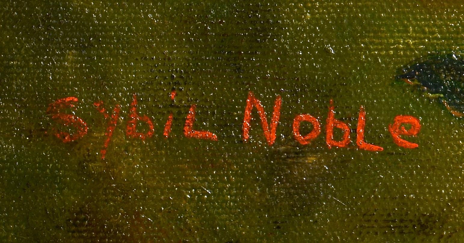 Lot 226: 2 Sybil Noble Murray Acrylic on Canvas Works