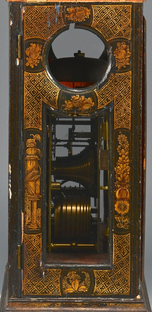 Lot 230: 18th c. Fusee Clock, Chinoiserie Case