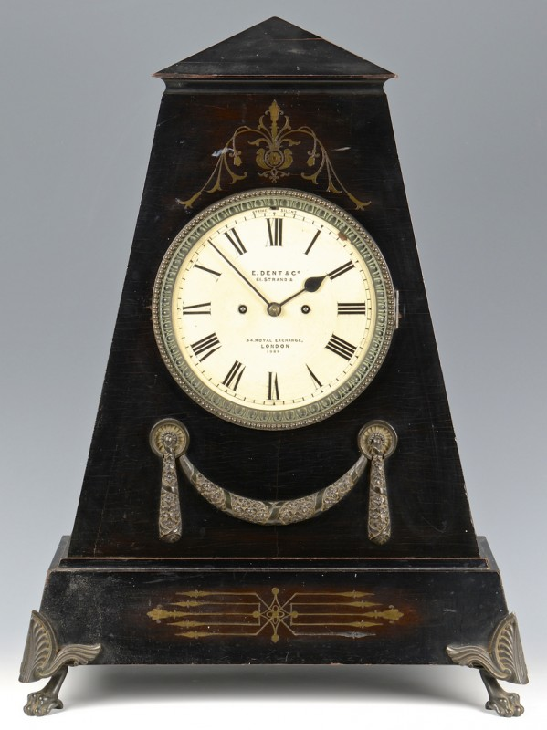 Lot 231: E. Dent & Co. English Clock