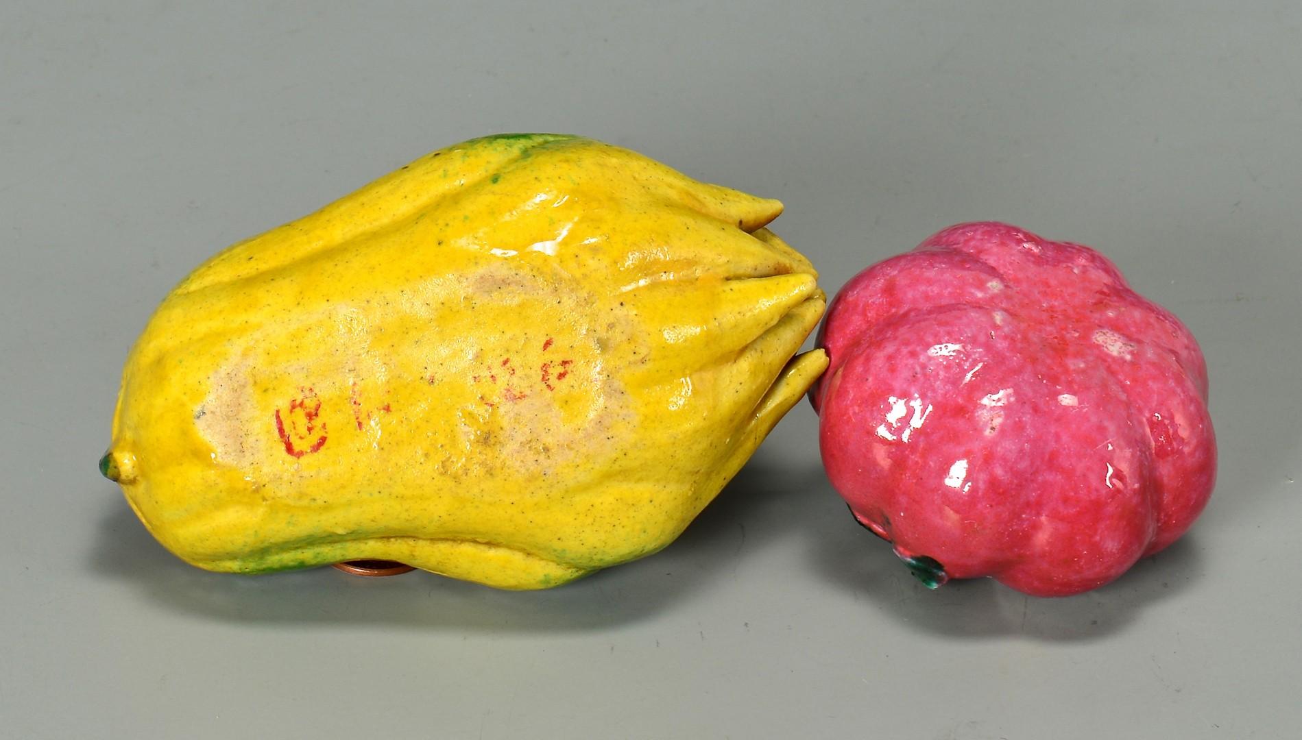 Lot 23: Chinese Altar Fruit, 6 pcs