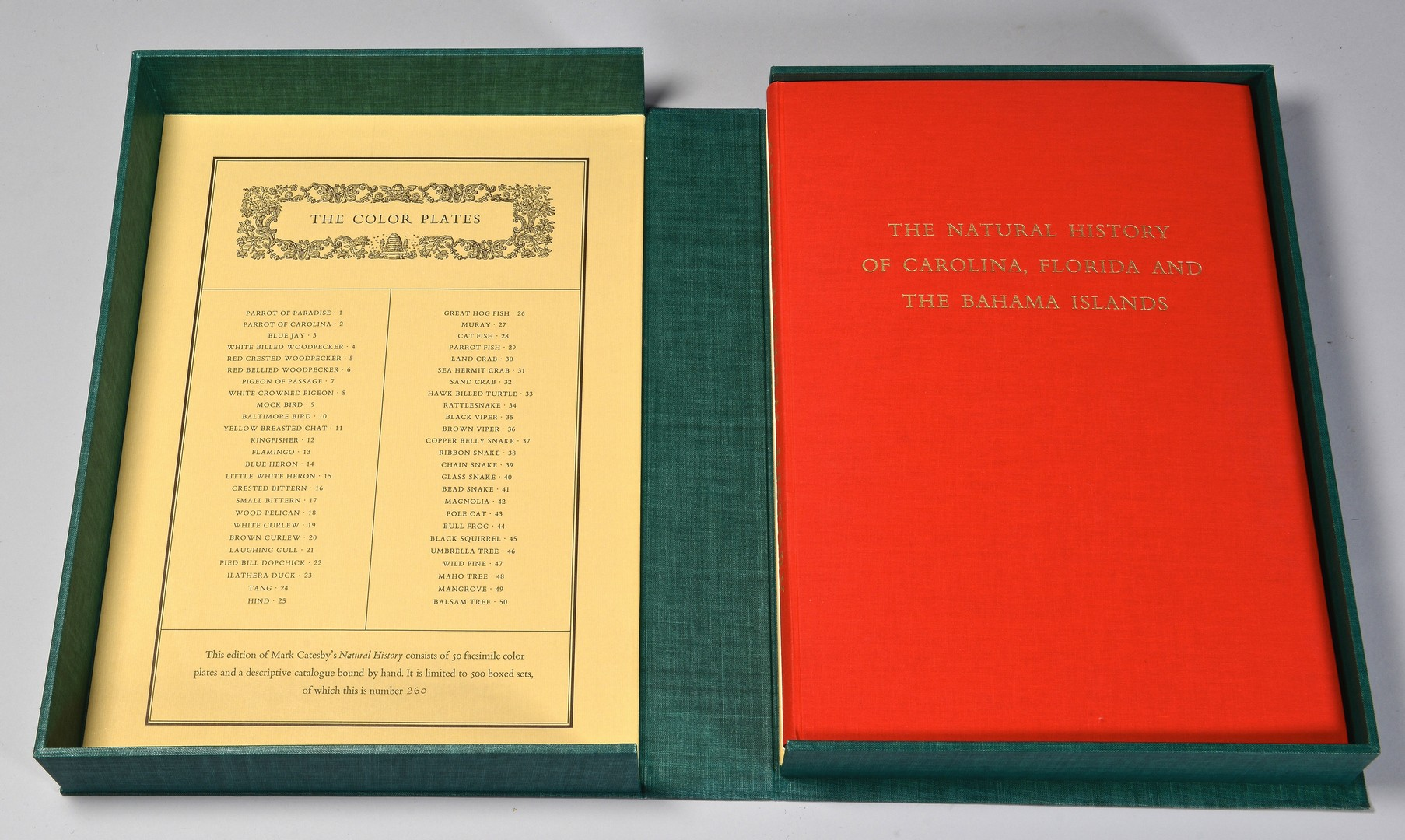 Lot 246: Catesby Beehive Set, #260, Natural History book