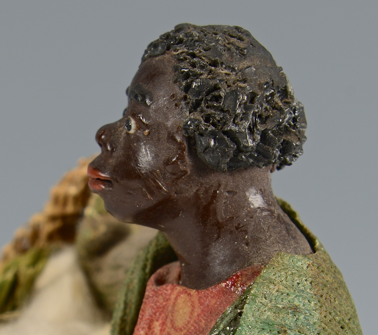 Lot 256: African American Wax Sculpture
