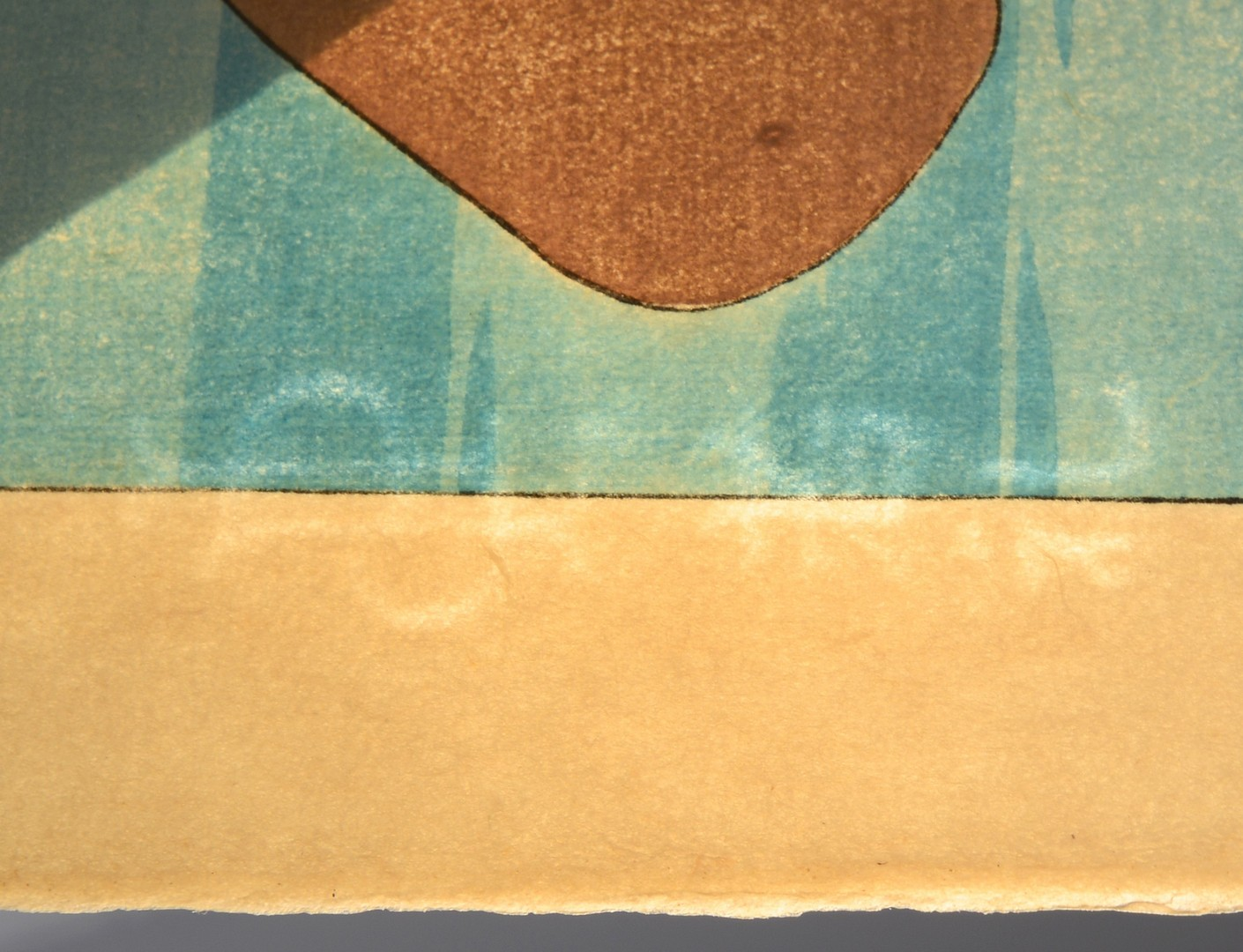 Lot 25: Paul Jacoulet Colored Woodblock, Le Betel Yap