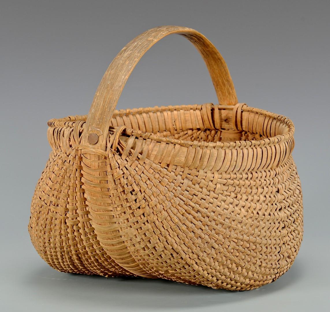 Lot 266: 3 East TN Buttocks Baskets