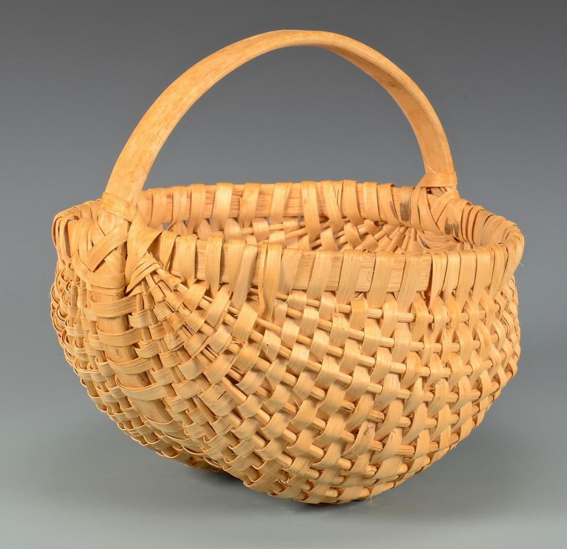 Lot 267: 4 Herman Freshour Split Oak Baskets