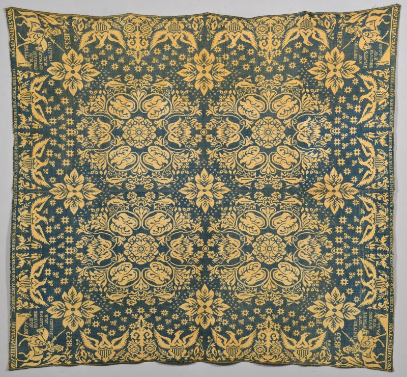 Lot 269: General Washington, Cunningham Coverlet