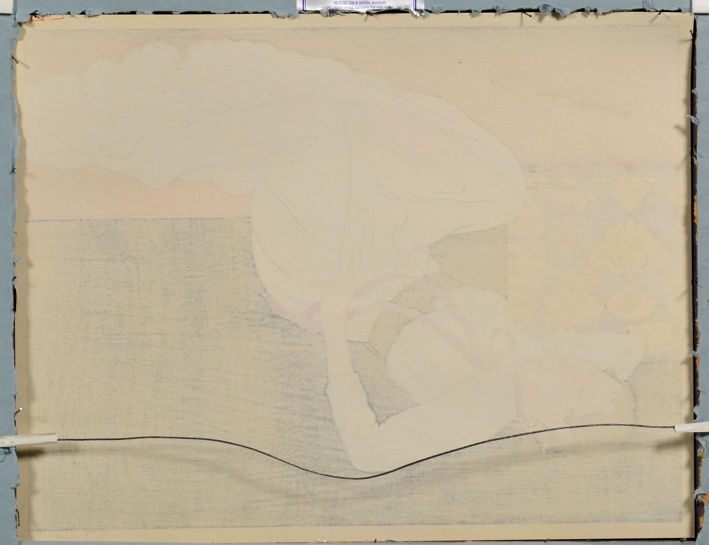 Lot 26: 3 Paul Jacoulet Woodblock Prints