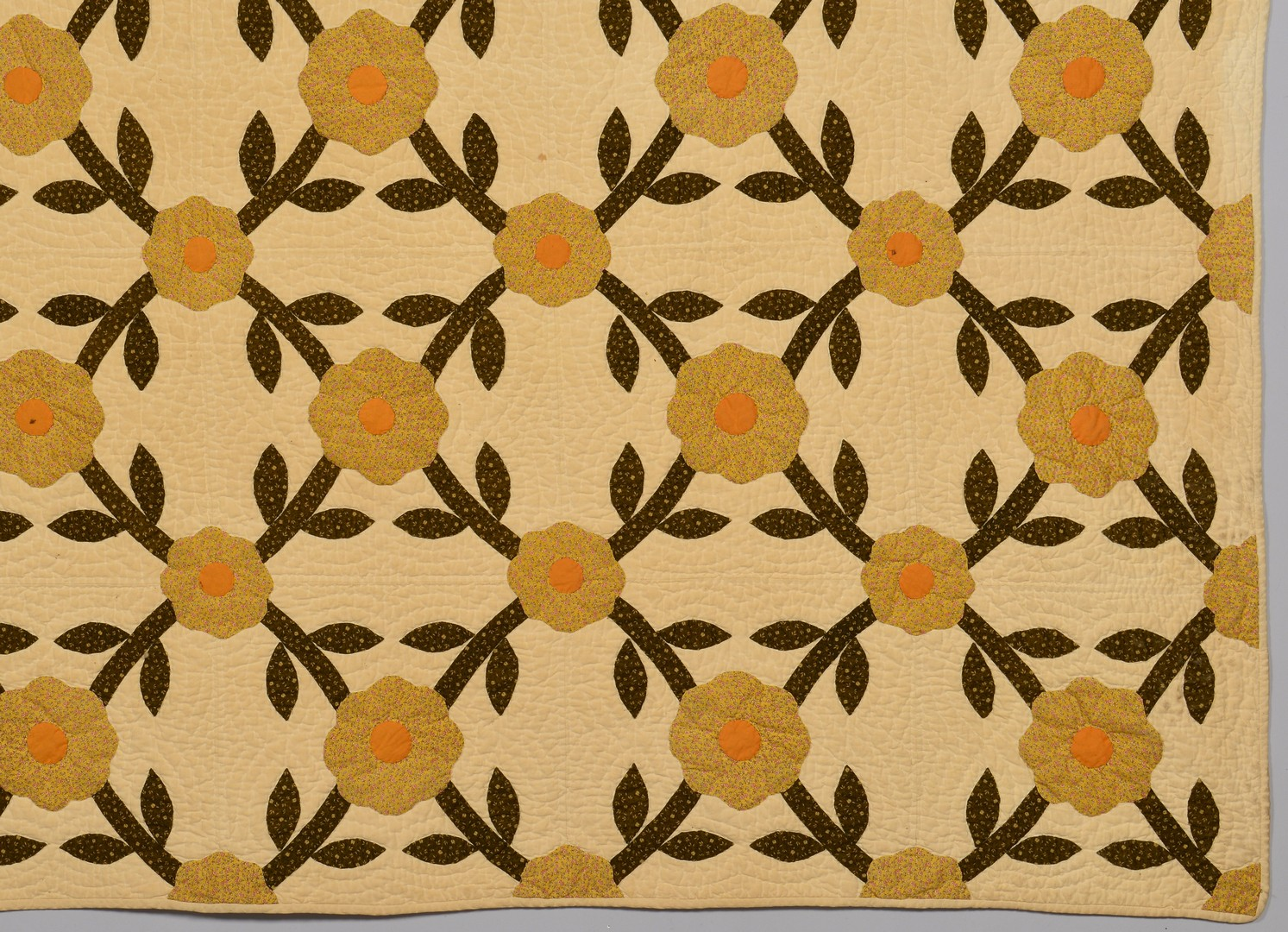 Lot 270: East TN Rose of Sharon Applique Quilt