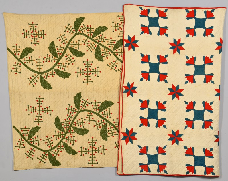 Lot 271: 2 East TN Applique Quilts