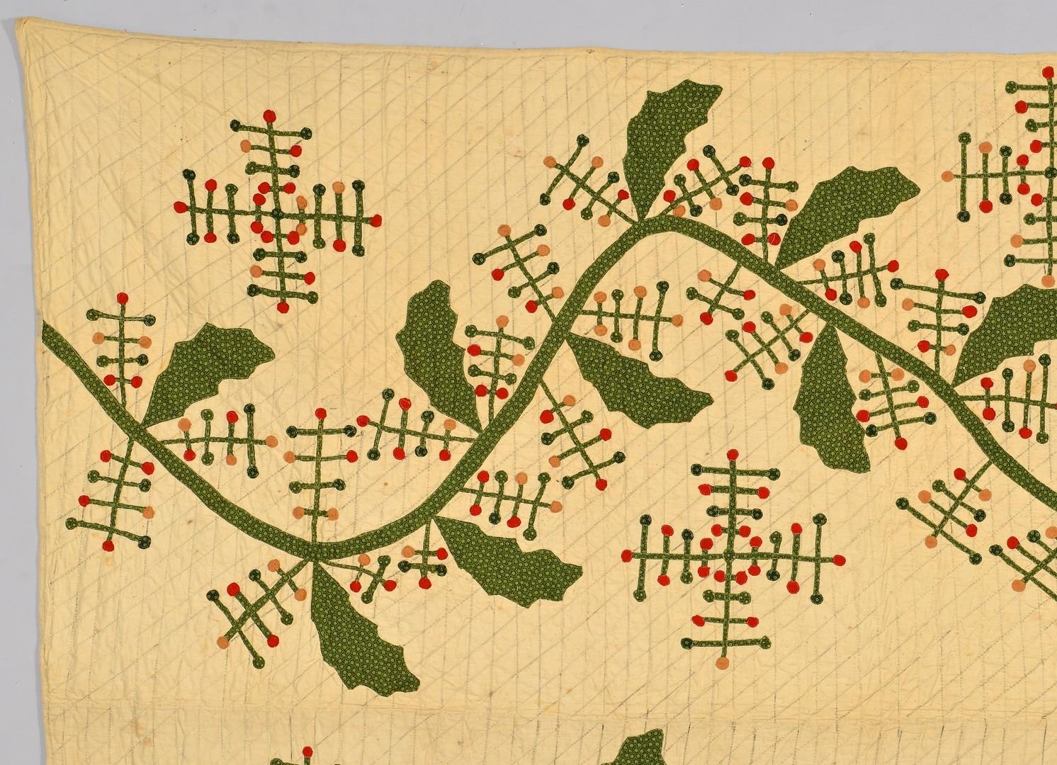 Lot 271: 2 East TN Applique Quilts