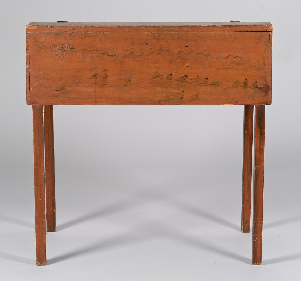 Lot 280: American paint decorated writing desk