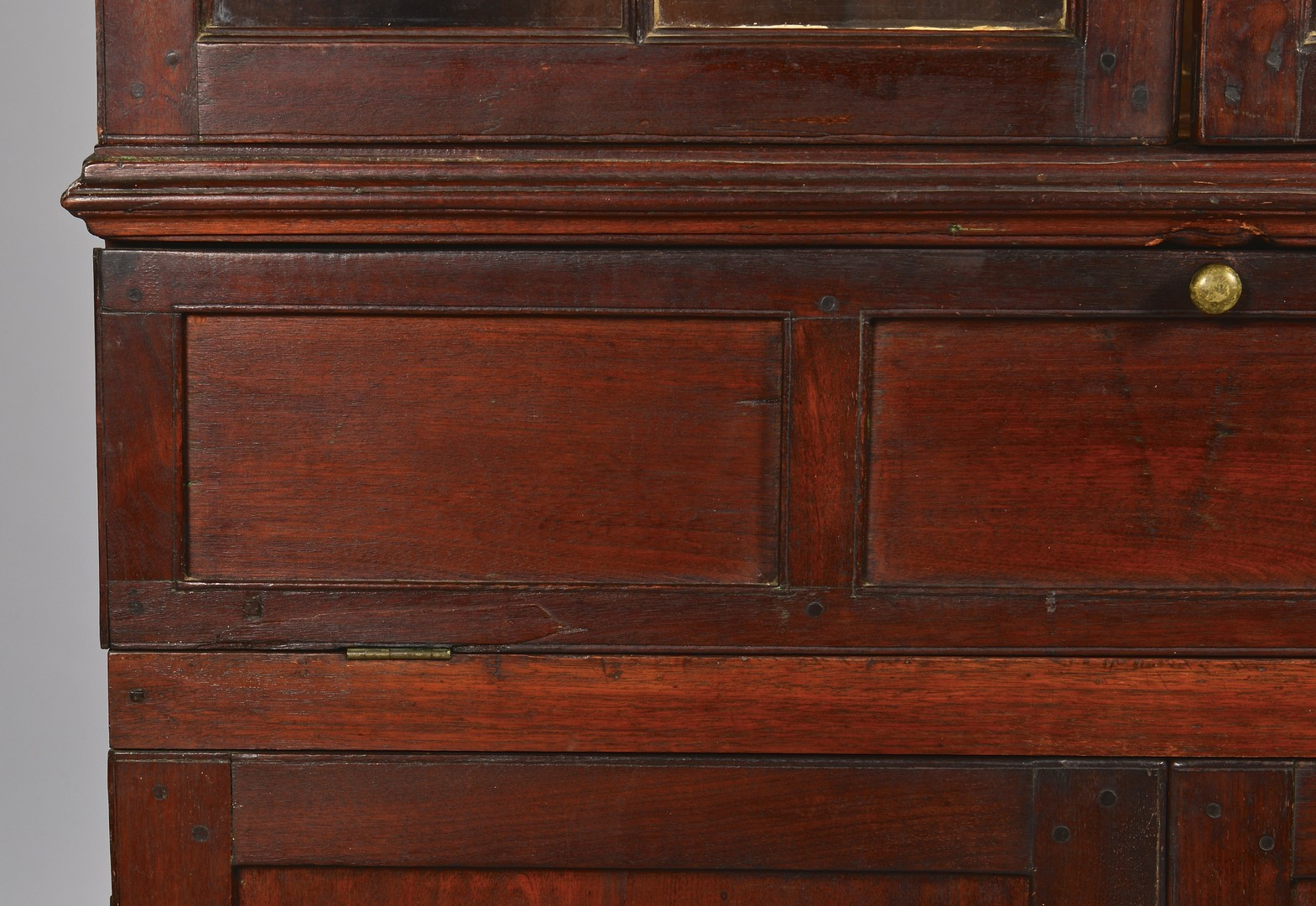 Lot 285: Virginia Fall Front Corner Cupboard