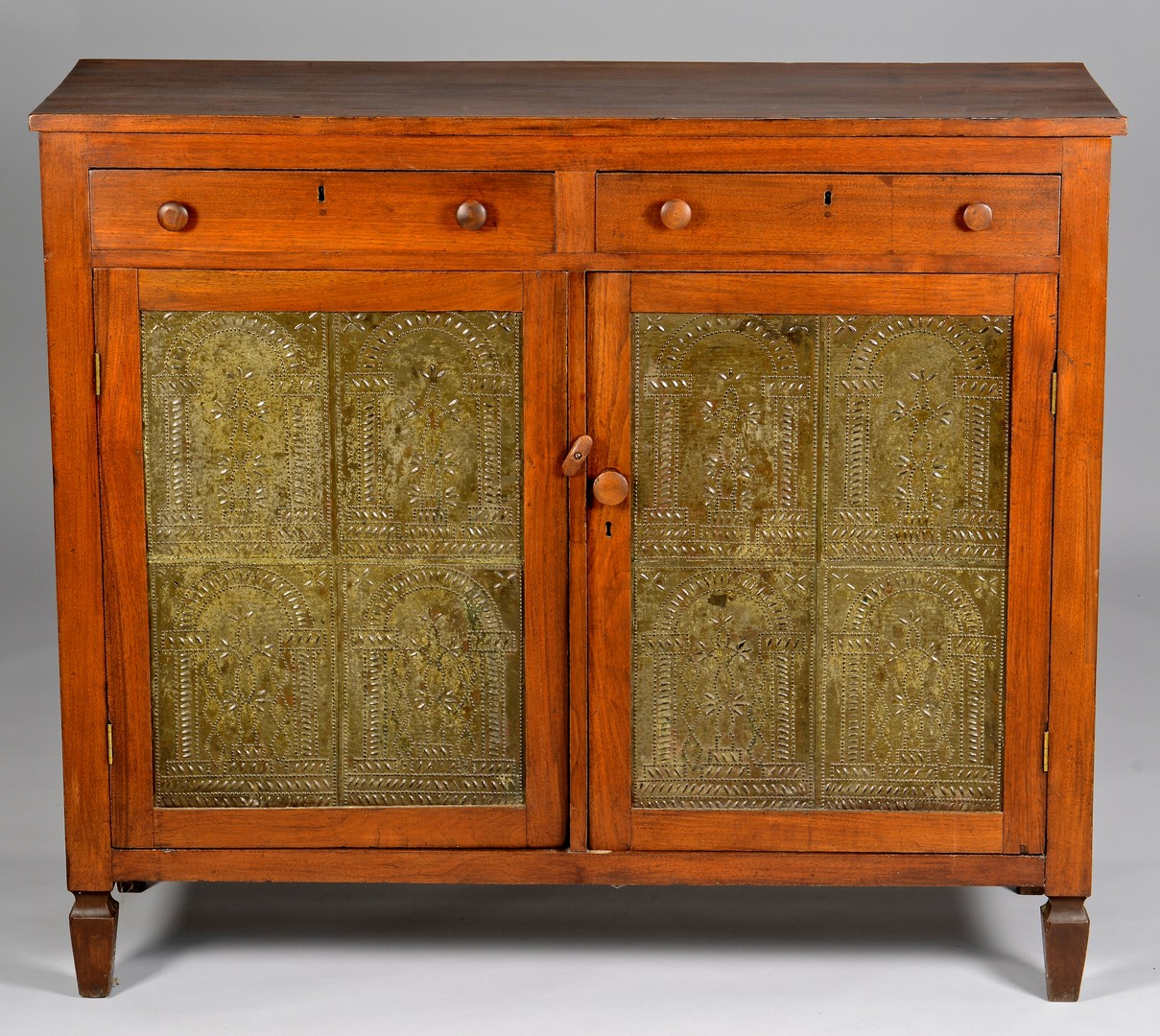 Lot 288: Greene Co. TN Pie Safe, Masonic Tins