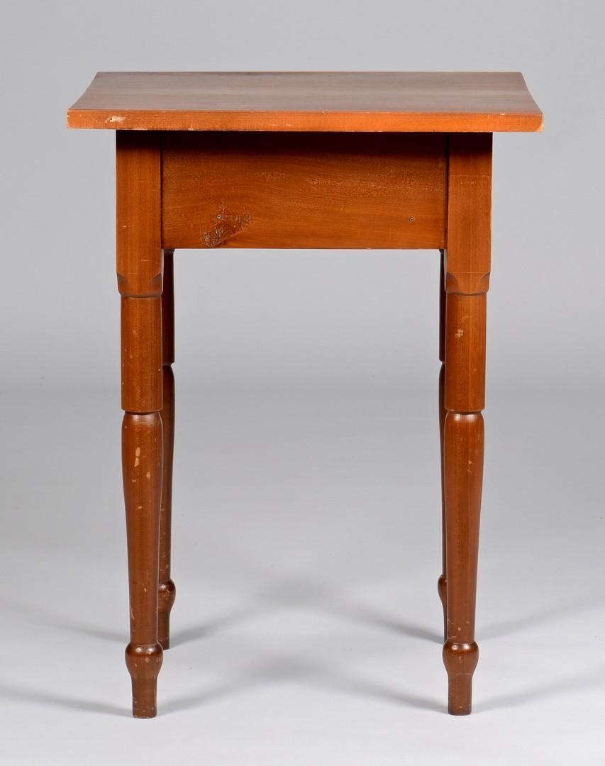 Lot 292: 2 East TN One Drawer Tables, att. Greene Co.