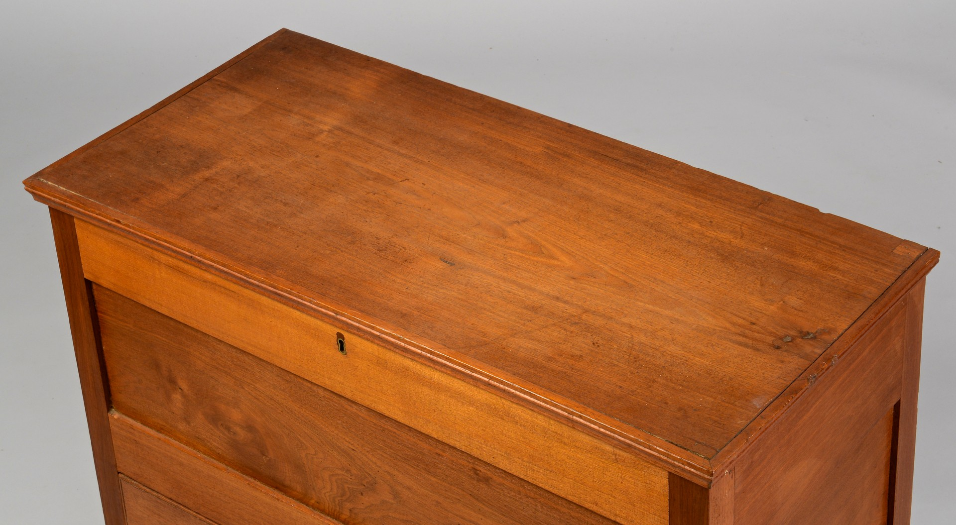 Lot 293: East TN Paneled Blanket Chest w/ Drawer