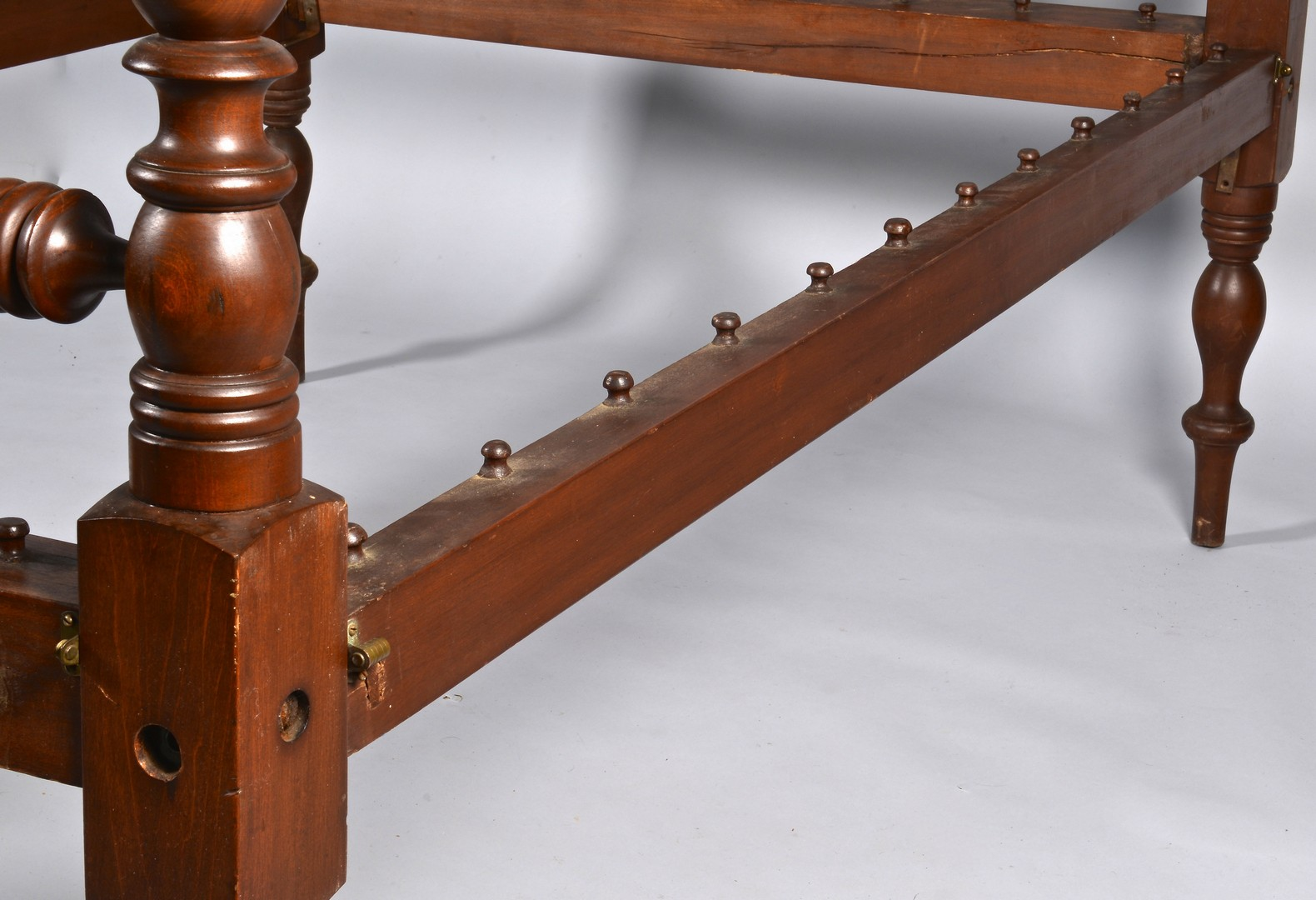 Lot 298: East TN Cherry Sheraton Rope Bed