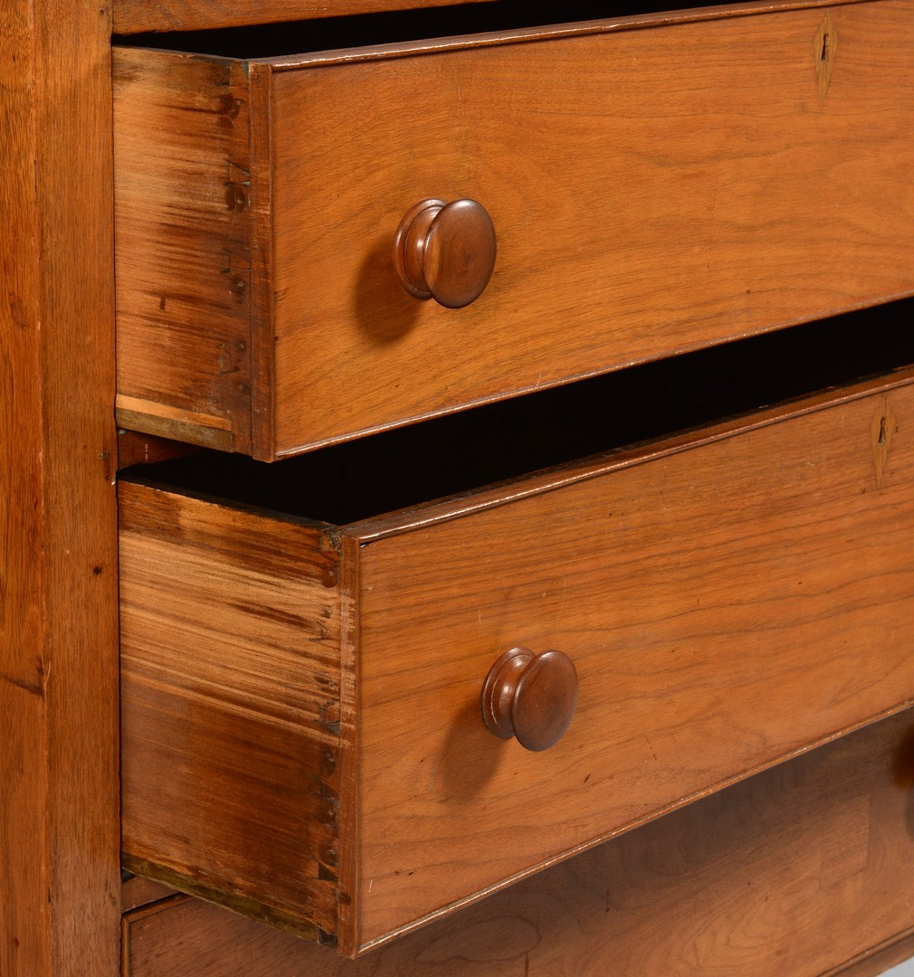 Lot 300: East TN Sheraton Chest of Drawers