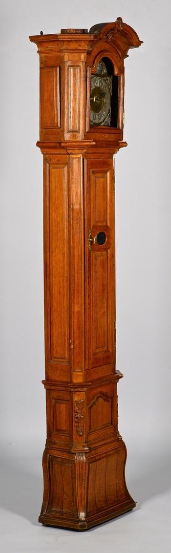 Lot 305: Continental Tall Case Clock