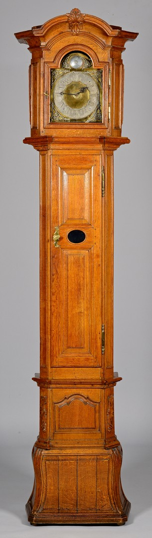 Lot 305: Continental Tall Case Clock
