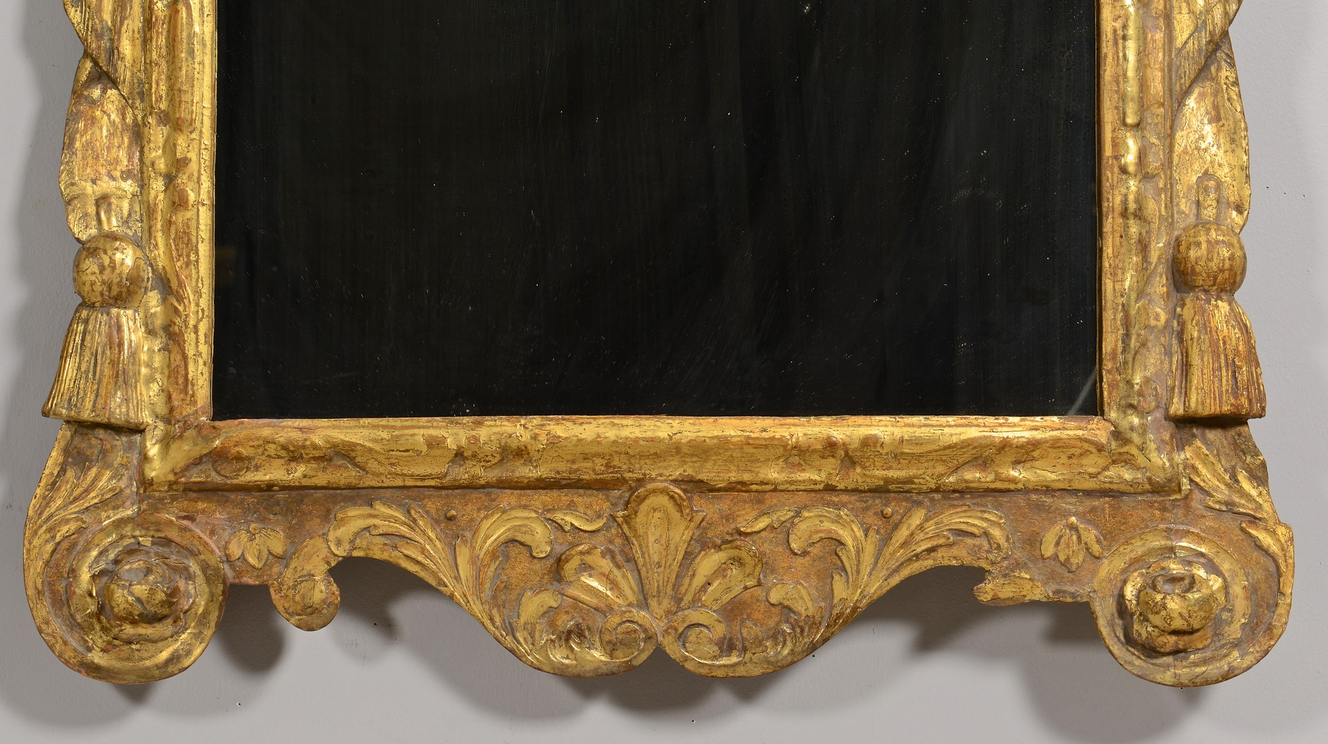Lot 306: Pair George II or III Style Giltwood Mirrors