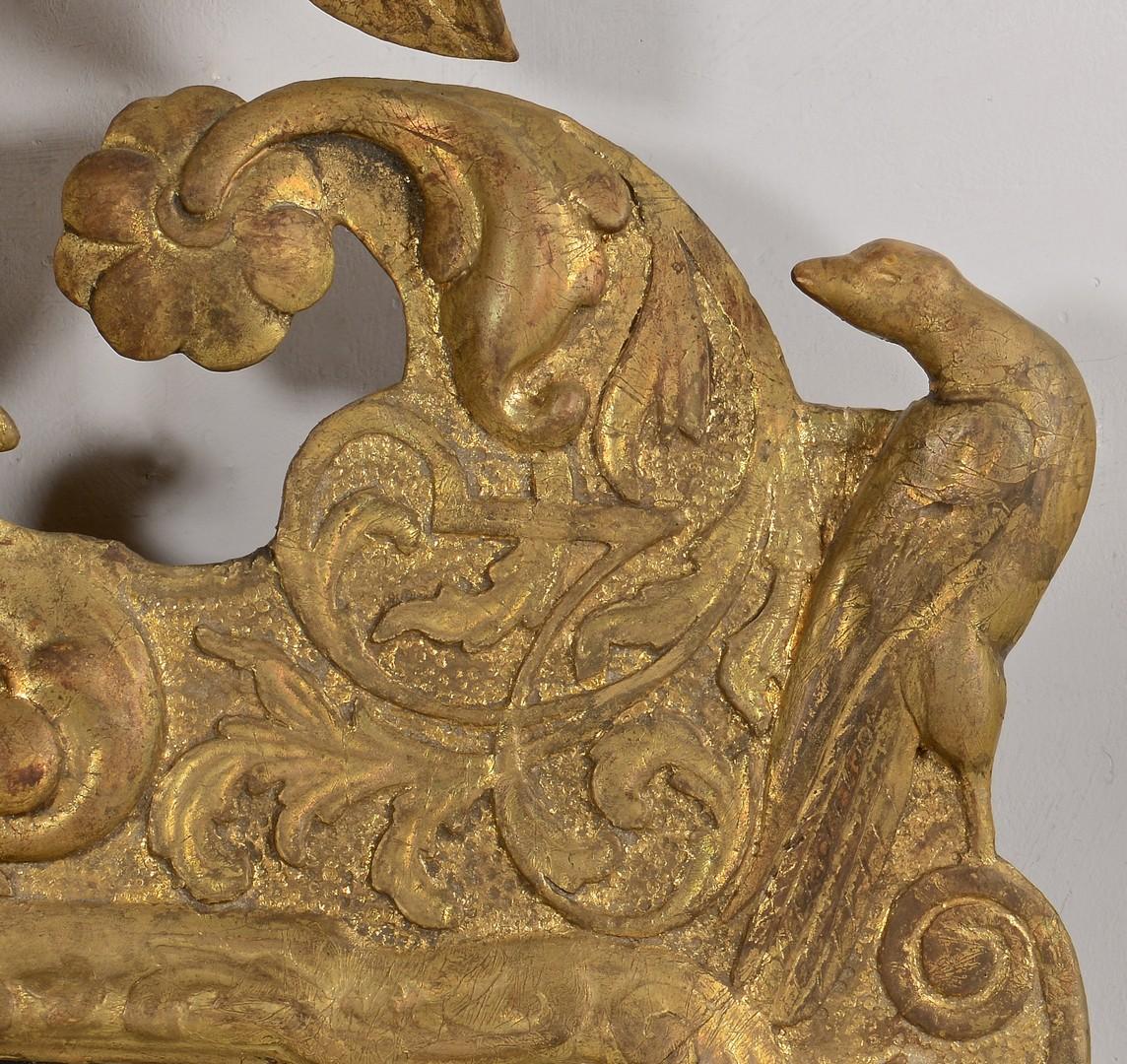 Lot 306: Pair George II or III Style Giltwood Mirrors