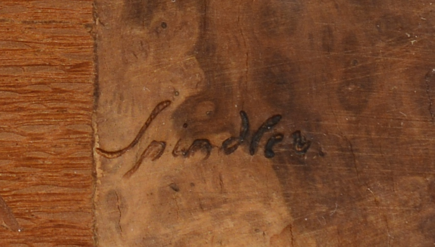 Lot 315: 2 Spindler Marquetry Panels