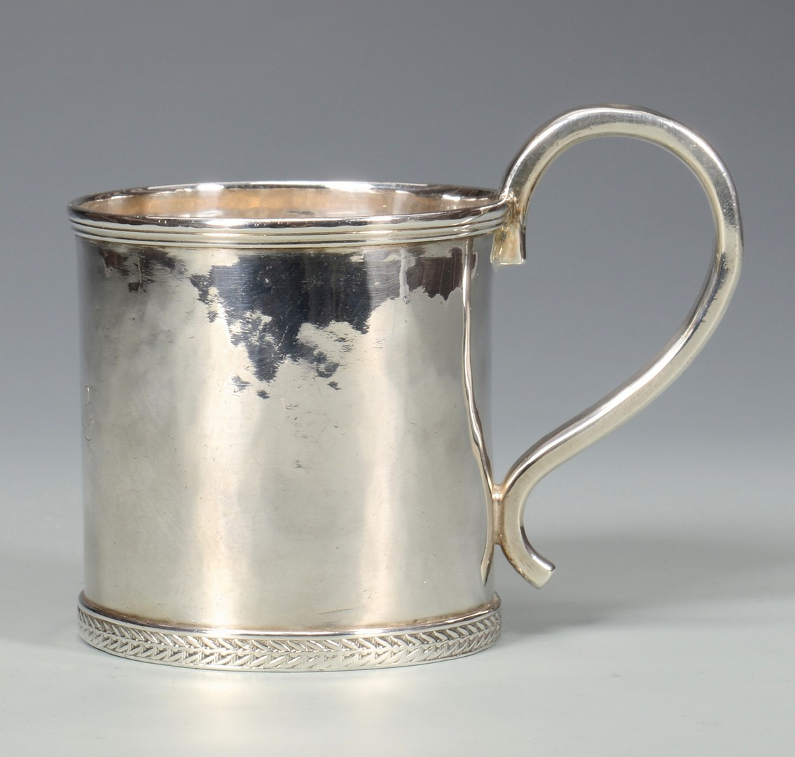 Lot 323: A Rasch Phila. Coin Silver Cup