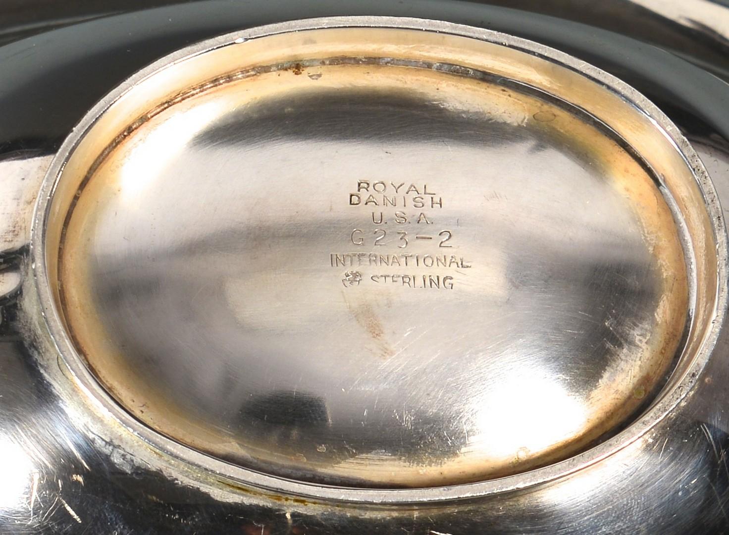 Lot 328: International Sterling Royal Danish Flatware, 69 p