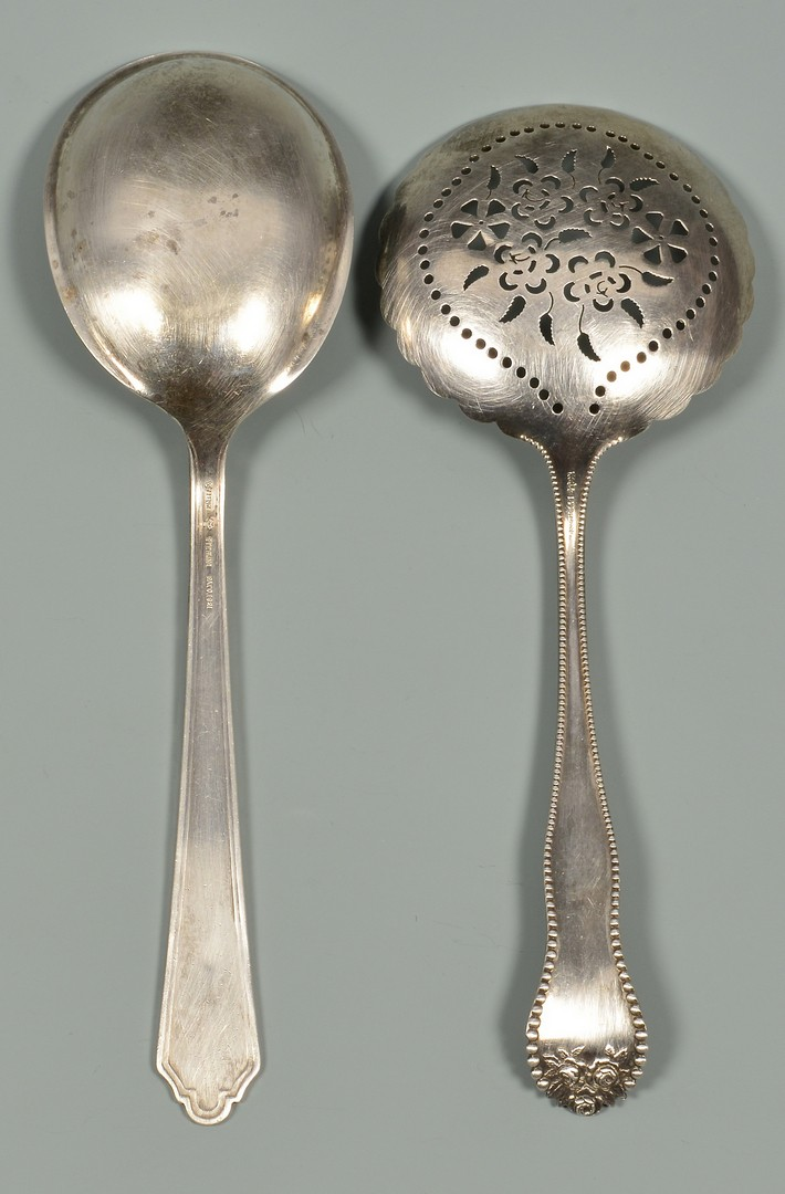 Lot 331: 10 Sterling Serving Pieces incl. Tiffany