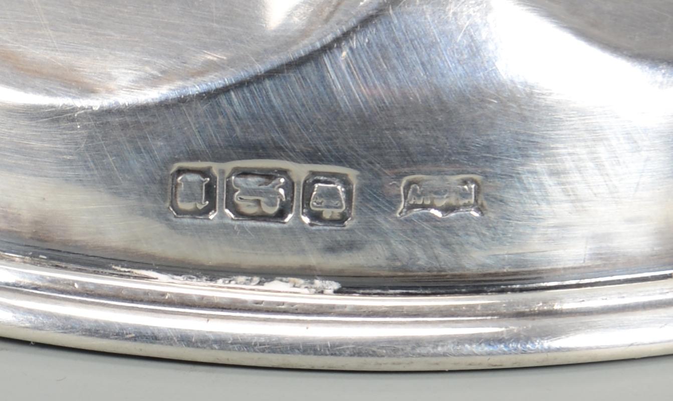 Lot 336: 5 pc. Sterling inc. Bowls, sauceboat
