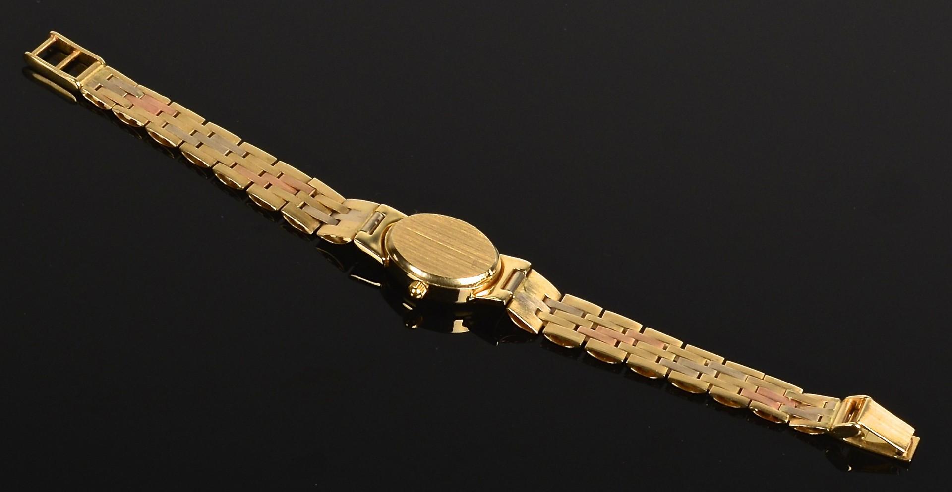 Lot 355: 14K Gold Geneve Watch