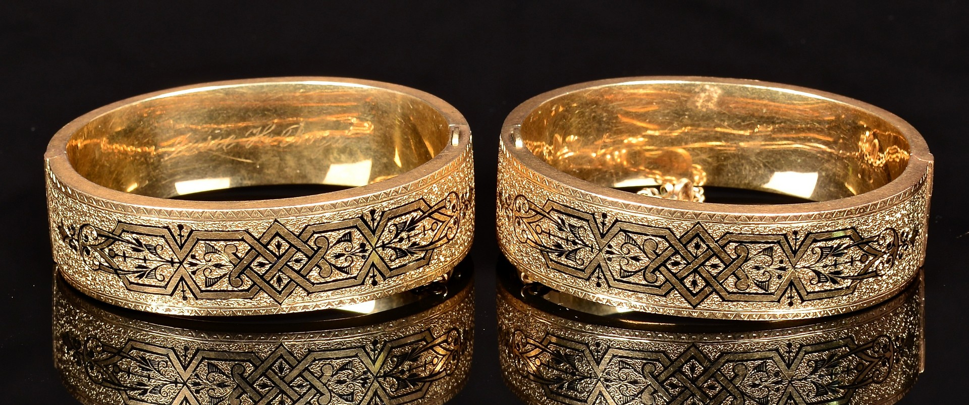 Lot 361: Group Vintage Gold Jewelry
