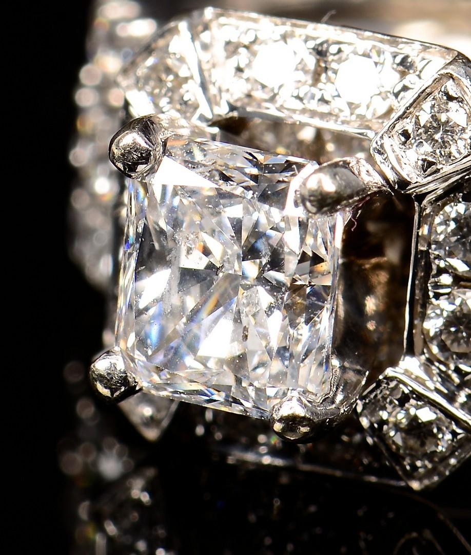 Lot 366: 1.10 ct. Radiant Brilliant Diamond Set
