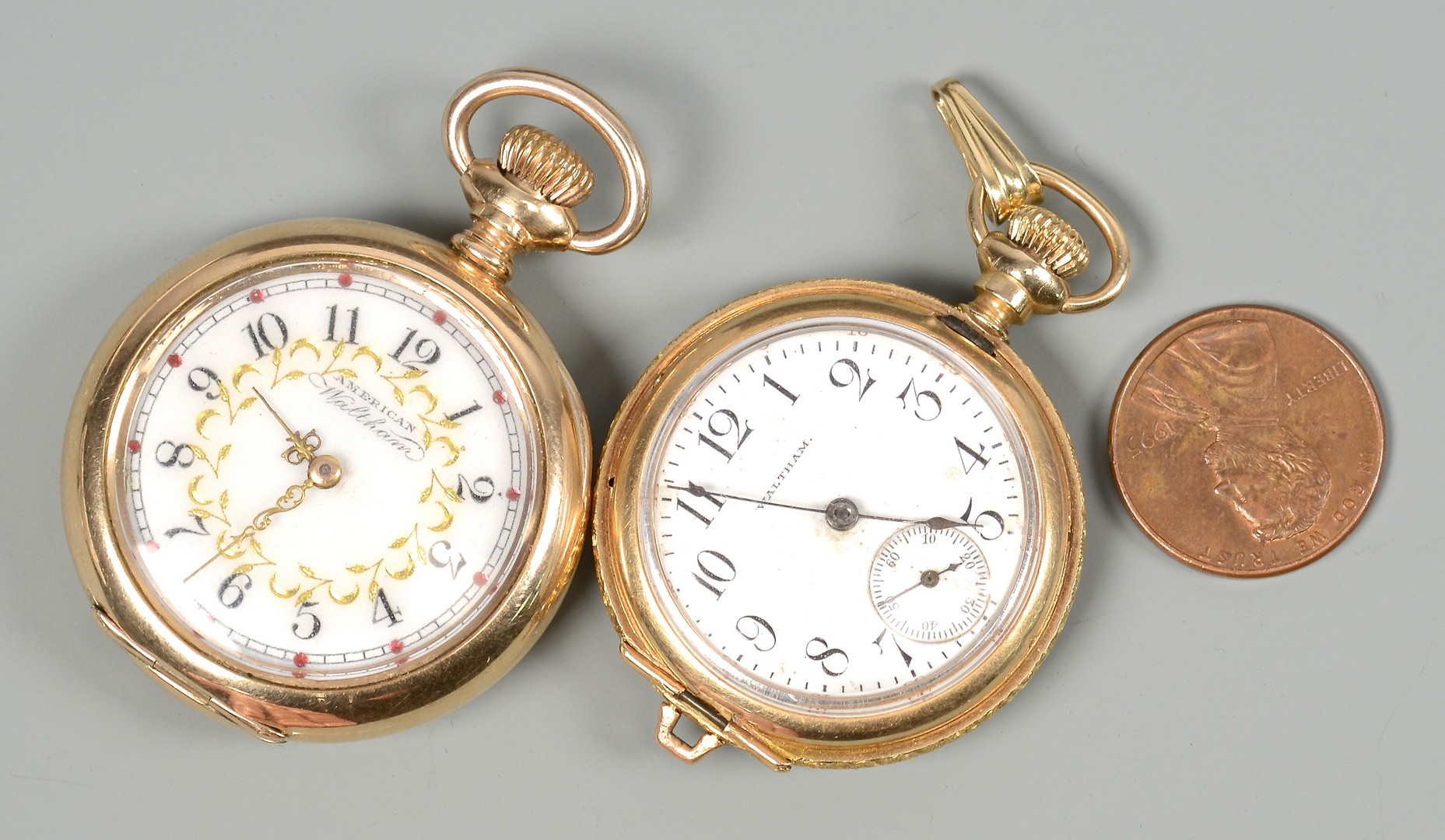 Lot 370: 4 Ladies Pocket Watches
