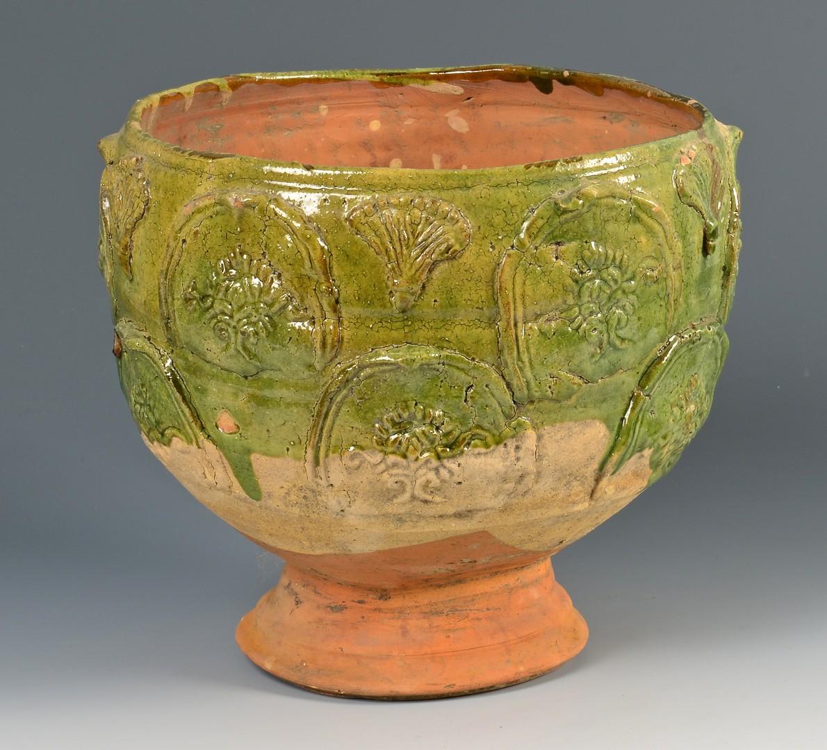 Lot 379: Chinese Ceramic Yuan Dynasty Storage Jar