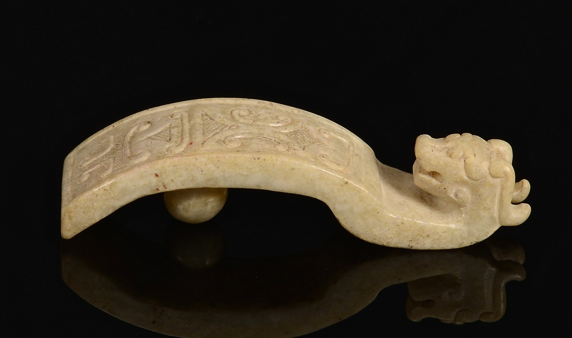 Lot 382: Archer's Ring & Belt Hook