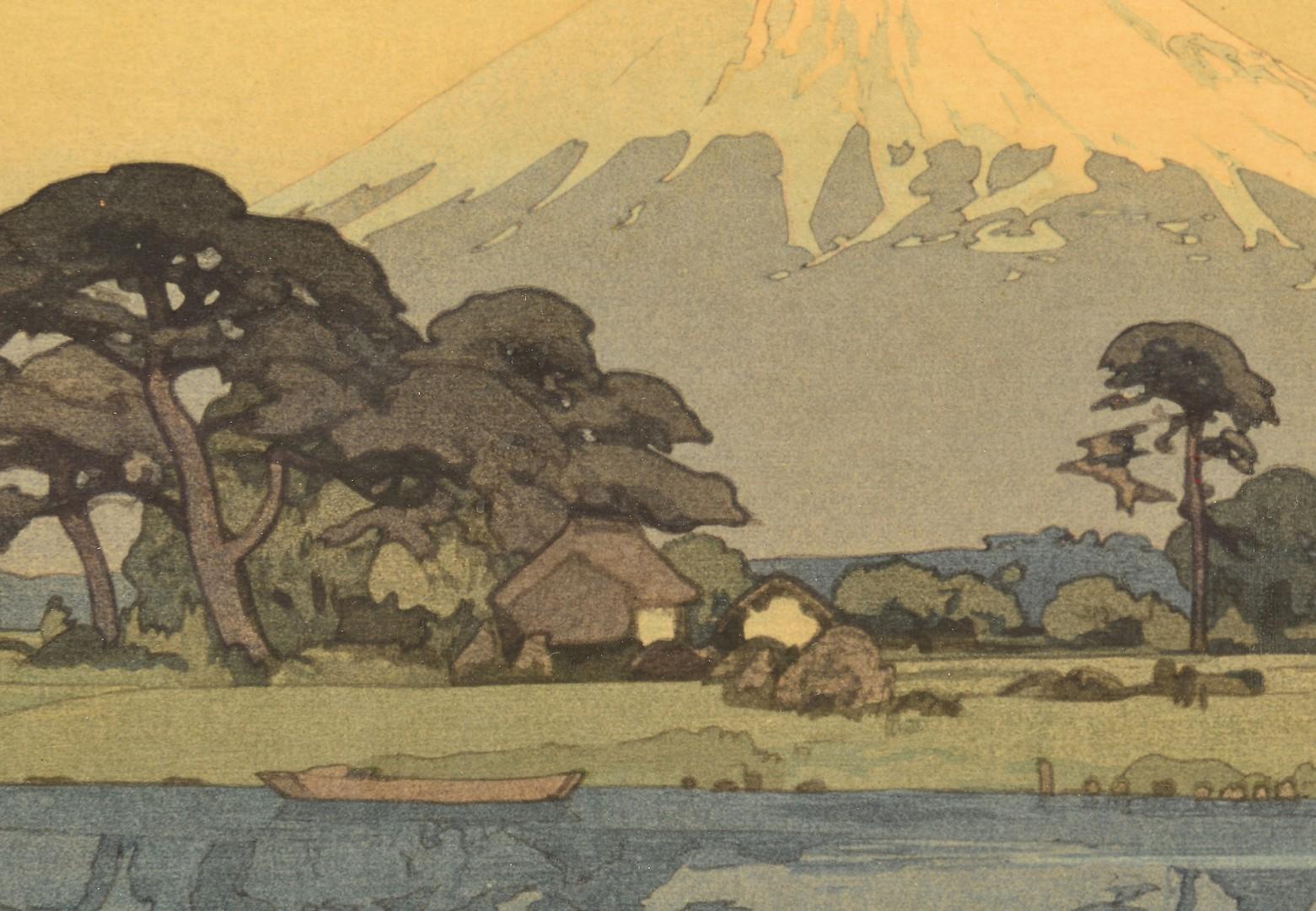 Lot 400: Hiroshi Yoshida Woodblock, Suzukawa