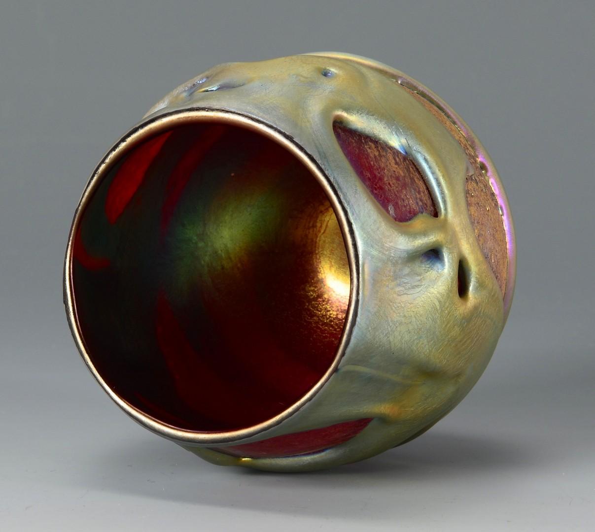 Lot 419: Charles Lotton Lava Vase