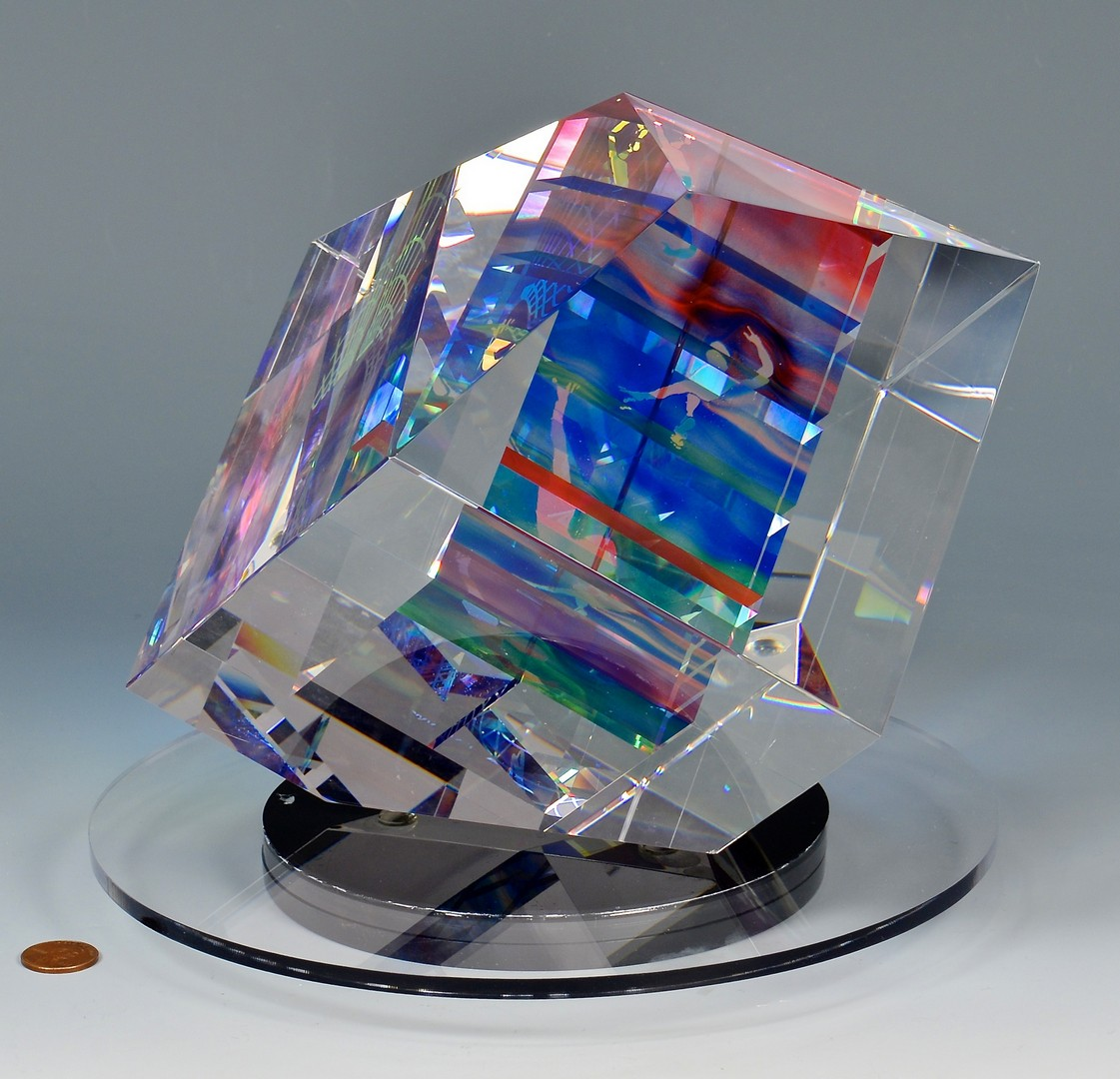Lot 427: Vanderlaan and Bliss Optical Block