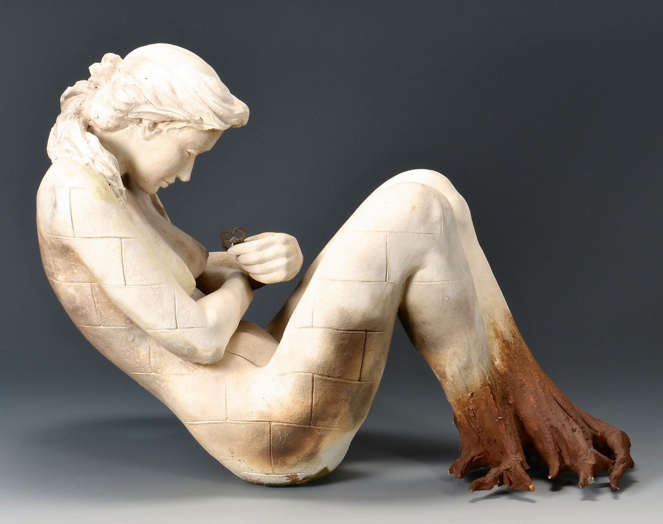 Lot 428: Beth Cavener Stichter Female Sculpture