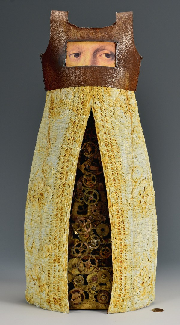 Lot 429: Kathleen Holmes Female Dress Sculpture