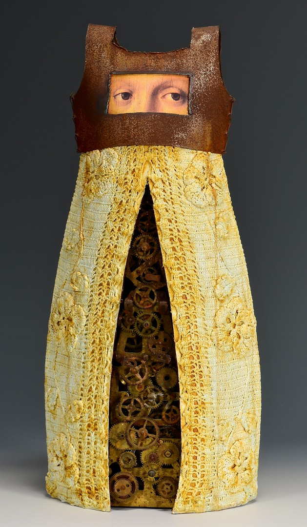 Lot 429: Kathleen Holmes Female Dress Sculpture