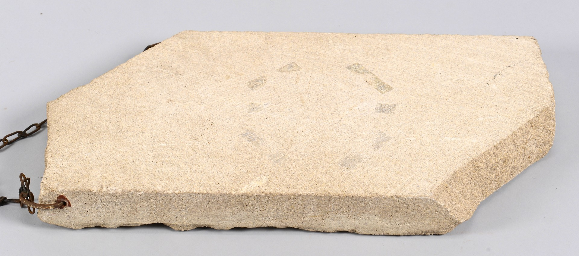 Lot 432: David Day, Small Stone Face Sculpture